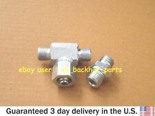 JCB BACKHOE- HYDRACLAMP T - ADAPTOR & ADAPTOR 1/4' X 9/16' (40/303610 1620/0002)