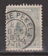 NVPH Netherlands Nederland nr 38 TOP CANCEL NIEUWE PEKELA Wilhelmina 1893