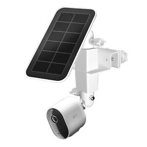 Weatherproof gutter mount for Arlo/ Ring/ Eufy/Blink and solar panel cameras