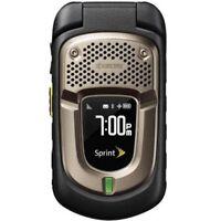 Kyocera DuraXT E4277 - Black (Sprint) 3G PTT Rugged GPS Flip Camera Cell Phone
