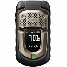 Kyocera DuraXT E4277 - Black (Sprint) PTT 3G Rugged GPS Flip Camera Cell Phone