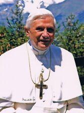 "Pope Benedict XVI 1927- genuine autograph signed 7""x9"" photo RARE UNCOMMON"