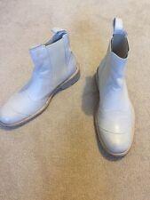 BELSTAFF Boots Belstaff HALF-BOOT SHOES Belstaff TOURMASTER White NEW UK7 Eur41