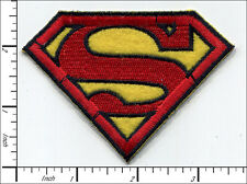 """20 Pcs Embroidered Iron on patches Superman Badge Red/Yellow 3.35""""x2.56"""" AP012eC"""