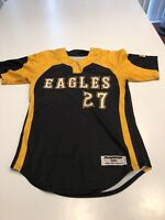 Game Worn Used Southern Mississippi Golden Eagles Softball Jersey Medium #27