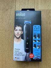 Braun 7 In 1 Cordless Trimmer / Clippers Kit. Hair / Beard. UK stock