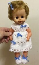 """Uneeda Baby Doll About 13"""" Vintage Made In Hong Kong"""