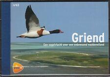 Nederland Prestigeboekje 63 Griend: vogels van het wad - birds