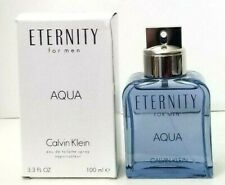 ETERNITY AQUA FOR MEN by CALVIN KLEIN eau de toilette 3.3 oz NEW IN TESTER BOX