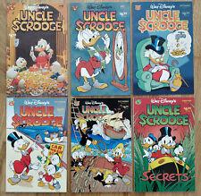 [Lot of 6] Uncle Scrooge #309, 311, 313, 315, 316, 318 [Prestige, low run]