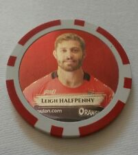 LEIGH HALFPENNY RCT TOULON RUGBY JETON POKER TOSS OFFICIEL STAR DU PAYS GALLES