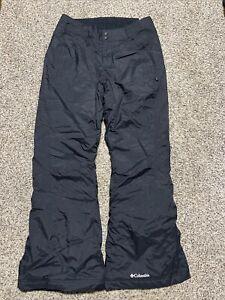 Columbia Modern Mountain 2.0 Black Snowboard Ski Pants Women's Size M Medium