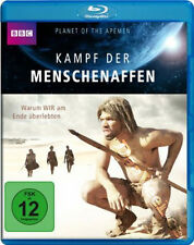 Planet of the Apemen: Battle for Earth NEW Documentary Blu-Ray Disc D. Stewart