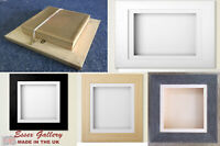3D Deep Box Picture Frame Memory Medals Memorabilia Flowers Babycast NOW IN GREY