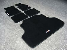 Car Mats to fit Mitsubishi Lancer Evolution 6 RHD (Evo VI) + Boot Mat + RalliArt