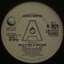 "Adele Bertei(7"" Vinyl Promo)Build Me A Bridge-Geffen-A 3675-UK-VG+/Ex"