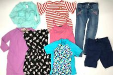 Tucker + Tate Boden H&M Lands End Jeans Dress Top Sz 7-8 M Girls Clothing Lot