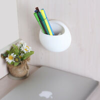 Wall Mount Toothbrush Holders Suction Cups Toothpaste Storage Rack Bathroom