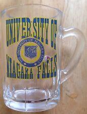 UNIVERSITY OF NIAGARA FALLS MINIATURE BEER MUG STEIN