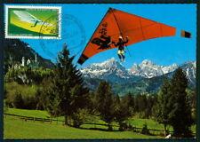 GERMANY MK 1982 HANG-GLIDING HANG-GLIDER DRACHENFLUG MAXIMUM CARD MC CM aq61