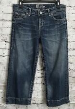 Kut From The Kloth Women's Denim Bermuda Shorts Capri Jeans Size 2 A56
