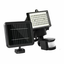 60 LED Solar Sensor Light Outdoor Security Floodlights Garden Motion Detector