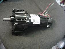 New BISON 90vdc 1/8hp 64rpm gearmotor 011-336-5028 conair franklin 20951301