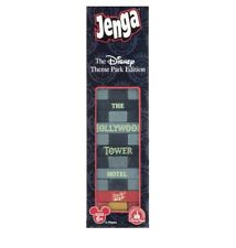 Disney Theme Park Edition Hollywood Tower Hotel Jenga Game New with Box