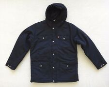 Levis Parka Jacket Mens Size XL Blue Hooded $148 Water Resistant