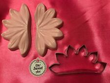 Day Lily Flower Silicone Mold Cutter Pastry Fondant Cake Mold  sugar flowers