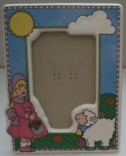 Vintage Mary Had a Little Lamb Photo Frame Russ Item No 15794 Philippines
