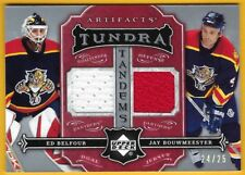Ed Belfour/ Jay Bouwmeester - 2007-08 Artifacts Tundra Tandems Red #TTBB