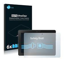 6x Displayschutzfolie für Amazon Kindle Fire HDX 7 (Ende 2013) Klar Schutzfolie
