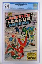 Justice League of America #5 - CGC 9.0 -DC 1961- 1st App/ORIGIN of Dr. Destiny!