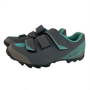 Women's Size 7 39 Gray Shimano Pedaling Dynamics SH-ME200 W-L Cycling Shoes