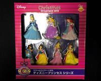 Happy kuji DISNEY Christmas ornament 2018 Special Complete BOX prize Princess