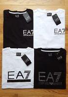 EA7 EMPORIO ARMANI MENS CREW NECK T-SHIRT SHORT SLEEVE NEW S M L XL BLACK WHITE