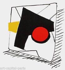 CALDER LITHOGRAPHIE ORIGINALE DERRIÈRE LE MIROIR 1976 DLM N°221 LITHOGRAPH