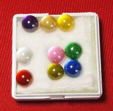 Powerful Nok Phra Gow 9 Colors Ball  Lucky Gems Naga Eye Crystal Thai Amulet#R59