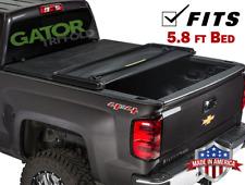 Gator ETX Tri-Fold (fits) 14-18 Silverado Sierra 5.8 FT Tonneau Bed Cover