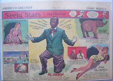 Seein' Stars: Al Jolson in Black Face, Joan Blondell from 4/16/1939