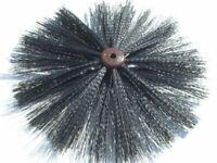 16 400mm diameter chimney sweep brush head - British Made