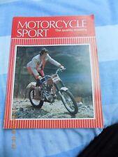 motorcycle sport/Vincent Grey Flash Test/S.S.D.T./Kawasaki KLR 250 test/LE MANS