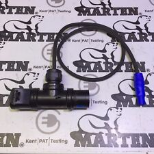 Marten PCE 16a T-Connect Black with 1m HO7RN-F Cable to Neutrik PowerCON NAC3FCA