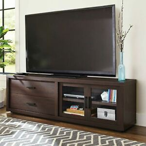 "Better Homes & Gardens Steele TV Stand for TV's up to 80"", Espresso"