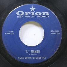 """Hear! Teen Jazz 45 Alan Swain Orchestra - """"L"""" Mambo / The Tic On Orion"""