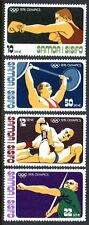 1976 SAMOA OLYMPIC GAMES MONTREAL SG470-473 mint unhinged