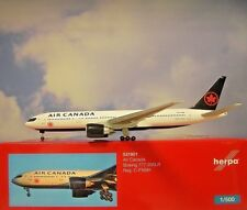 Herpa Wings 1:500 Boeing 777-200LR Air Canadá C-Fnnh 531801 Modellairport500