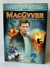 6 Dvd Collection MacGyver Tv Show The Complete 2nd Season Richard Dean Anderson