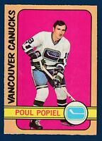 POUL POPIEL 72-73 O-PEE-CHEE 1972-73  NO 67 EX+